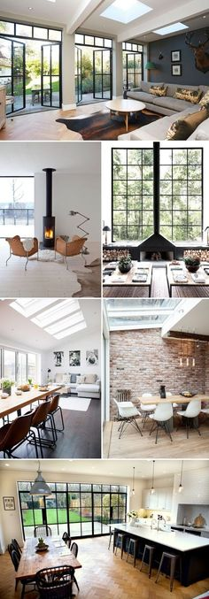 is a small single storey extension worth it | How to extend a new build | small extension on a new build property | How to decorate your extension | making the most of a small space | Small room decor | open fire inspiration | exposed brick interior inspiration | bifold door inspiration