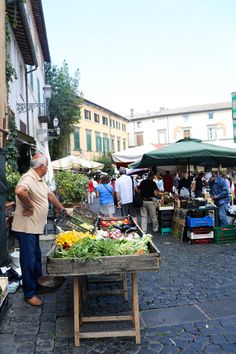 Stroll the quiet town of Orvieto with gelato in hand and check out the farmer's market. Buy some of the local produce for a healthy snack or just use the opportunity to people watch.