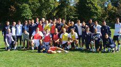 Quinnipiac Men's Soccer Alumni Game - September 28, 2013