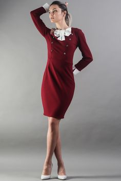 Everyday Fashion, Streetwear, High Neck Dress, Elegant, Dresses, Street Outfit, Turtleneck Dress, Classy, Vestidos