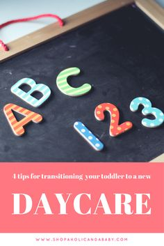 Tips for transitioning your toddler to a new school, preschool, daycare or kindergarten.