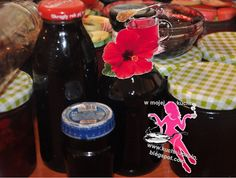 w mojej kuchni: Syrop z kwiatów hibiskusa