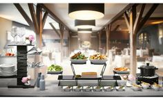 Buffet Risers & Food Display Stands | Rosseto