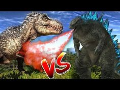 Godzilla And Dinosaurs Finger Family | Daddy Finger Family Song | Preschool Songs | Rhymes For Kids - YouTube