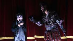 Hayato Kamie (Rigoletto), Myeongjun Shin (Sparafucile) - foto di Roberto Ricci