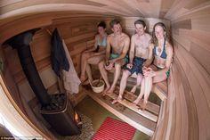The Coolest Sauna (on Wheels) We've Ever Seen