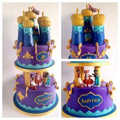 Princess Jasmine/ Aladdin cake