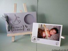 Faire part de naissance ! Inspiration : http://marinettescrapouille.blogspot.com/