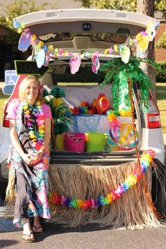 luau trunk or treat