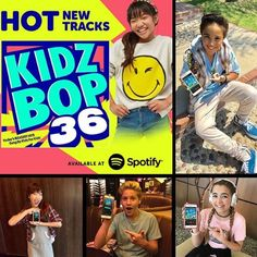 399de5dc Kidz Bop, Music For Kids, New Music, Spotify Playlist, Music Lovers,