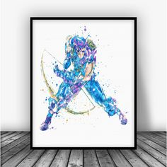 Hawkeye Art Print Poster by Carma Zoe From $10.00