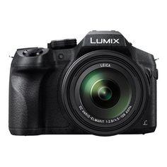 Panasonic Lumix DMC-FZ300 - Appareil photo numérique - compact - 12.1 MP - 4K / 25 pi/s - 24 x zoom optique - Leica - Wi-Fi - noir