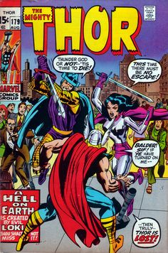 The Mighty Thor 179 - Stan Lee and Jack Kirby