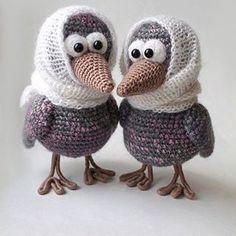 Воронулички красотулички )) @mafulya_crochettoys