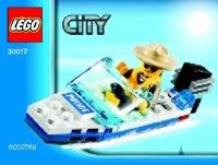 View LEGO instructions for Police Boat set number 30017 to help you build these LEGO sets