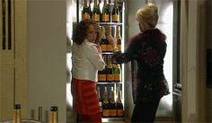 """Ab Fab movie stars banned from drinking on set after """"out of hand"""" partying - Gay Times Ab Fab Movie, Patsy And Edina, British Comedy, Absolutely Fabulous, I'm Fabulous, Gifts Under 10, I Love To Laugh, On Set, Corona"""
