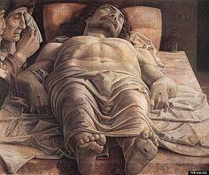 Andrea Mantegna, The Lamentation over the Dead Christ, 1490:
