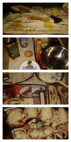 Canelones de Berenjenas rellenos con ricota!!  Picar berenjenas en tajadas delgadas y asarlas en el horno o en una sarten. En un tazón mezclar 250 gr de ricota, nuez moscada, pimienta, sal y un huevo. Colocar el relleno en cada lonja de berenjena y enrollar. colocar en una bandeja, con una cucharada de salsa de tomate natural  y espolvorear con queso mozzarela y parmesano. Gratinar!