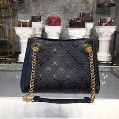 53b77429c0 Louis Vuitton Monogram Empreinte Leather Surene BB Black M43748 – LuxTime  DFO Handbags Louis Vuitton Monogram