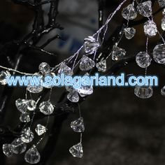 Crystal Diamond Bead Garland