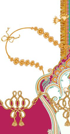 M # 3 on Behance Textile Pattern Design, Baroque Pattern, Textile Patterns, Textile Prints, Pattern Art, Textiles, Design Art Drawing, Graphic Design Art, Flower Art Images