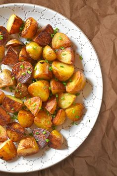 Use an Instant Pot or other pressure cooker to make Pressure Cooker Crispy Potatoes with golden exteriors and fluffy interiors in no time flat!