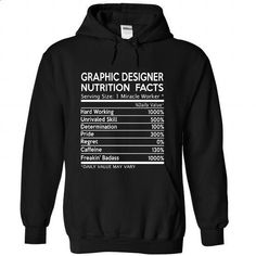 Graphic Designer Nutrition Facts - #long sleeve shirts #crew neck sweatshirts. ORDER NOW => https://www.sunfrog.com/LifeStyle/Graphic-Designer-Nutrition-Facts-4501-Black-Hoodie.html?id=60505