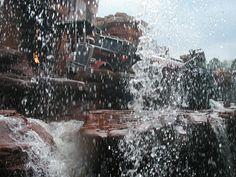 Catastrophe Canyon, Disney MGM ~ Walt Disney World, Florida 2004