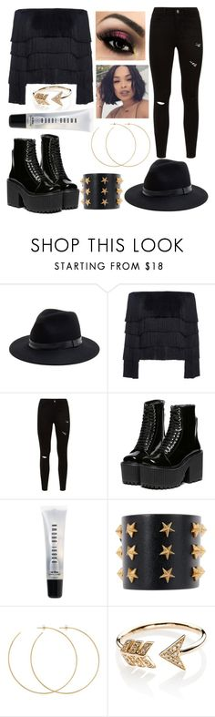 """""""Mad hatter contest"""" by kenarlwill ❤ liked on Polyvore featuring Sole Society, A.L.C., Bobbi Brown Cosmetics, Tommy Hilfiger, Allison Bryan and EF Collection"""
