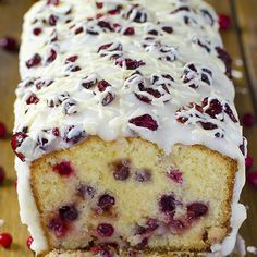 Christmas Cranberry Pound Cake Recipe Desserts, Afternoon Tea with cake flour, baking powder, salt, cranberries, white chocolate, unsalted butter, sugar, heavy cream, mascarpone, eggs, vanilla extract, butter, butter, cream cheese, powdered sugar, vanilla extract, dried cranberries, vegetable oil, white chocolate chips