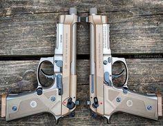 Manufacturer: Beretta Mod. M9A3 Type - Tipo: Pistol Caliber - Calibre: 9 mm Capacity - Capacidade: 17 Rounds Barrel length - Comp.Cano: 4.9 Weight - Peso: 997...
