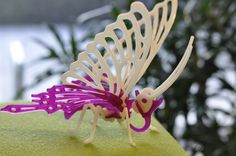 We made this: printed butterfly. 3 D, Presents, Butterfly, Printed, Christmas Ornaments, Holiday Decor, Stamps, Gifts, Xmas Ornaments