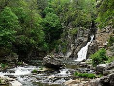 Linville Falls off Blue Ridge Parkway. A Happy Place since I was young.