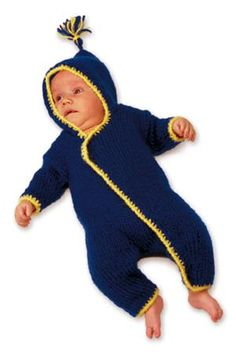 Knitted Baby Onesy Pattern Christmas Knitting Patterns, Sweater Knitting Patterns, Crochet Patterns, Knitting Ideas, Baby Scarf, Knitting Supplies, Lion Brand Yarn, Arm Knitting, Knitted Bags