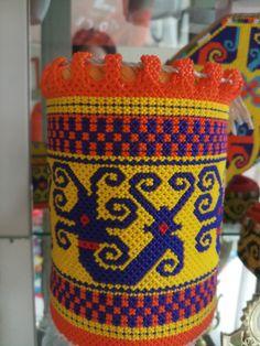 Borneo, Dan, Ethnic, Culture, Beads, Patterns, Design, Fashion, Bracelets