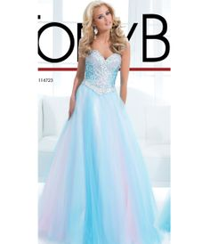 Aqua Belle Of The Ball Mermaid Prom Gown - Unique Vintage - Prom ...