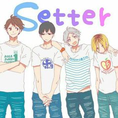 Haikyuu setters are just attractive as the next omg