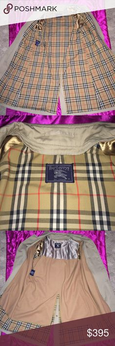 ❤️BURBERRY BEAUTIFUL LONG MAXI TRENCH COAT JACKET ❤️BURBERRY BEAUTIFUL LONG MAXI TRENCH DUSTER COAT JACKET 💗HONEY CLASSIC & CLASSY BURBERRYS COAT  💗ONE OF A KIND UNIQUE VINTAGE PIECE  ❤️SUPER SOFT & COMFORTABLE  💗EXCELLENT CONDITION 💗STYLISH & FUNCTIONAL 💗REMOVABLE WOOL BLEND LINING. Perfect Condition.  -FITS LARGE TO EXTRA LARGE. -aprox. length -Aprox. laying flat from armpit to armpit/chest. Women or men can wear this Classic Style. Warm winter coat/Fall Spring trench Jacket…
