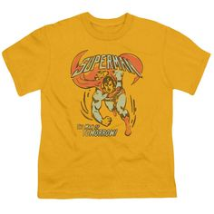 DC/TOMORROW MAN-S/S YOUTH 18/1-GOLD-SM
