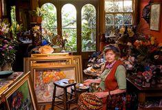 margaret olley in her studio, australia