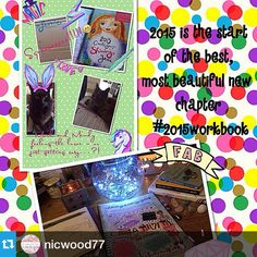 Pretty oh so pretty!!! #Repost @nicwood77 ・・・@leonie_dawson Feeling the magic of the workbook  Focussed, excited, ready to put ideas into plans, and have the BEST year everrrrrrr!!! P.s. My cats kinda love it too  xx #2015workbook #myshiningyear #leoniedawsonrocks #planningisthekey #byebye2014 #excitingtimes #positivethinking