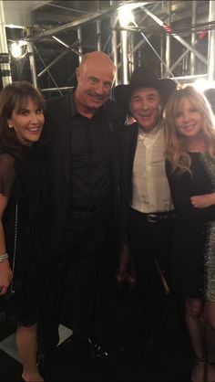 Backstage with Clint and Lisa Black at #ACMAwards50. #ACM #ACMs