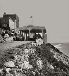 نقطة العبور بين فلسطين ولبنان في راس الناقورة عام 1920-1933م  Crossing point between Palestine and Lebanon  naqoura in 1920-1933