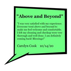 -Carolyn Cook Keep Trying, Above And Beyond, My Favorite Part, Dentistry, Clinic, Dental, This Or That Questions, Feelings, Cook