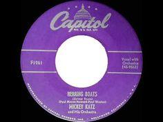 1952 Mickey Katz - Herring Boats (Shrimp Boats) - YouTube