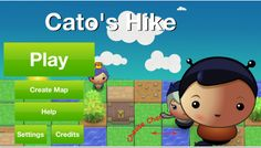 Cato's Hike/Cato's Hike Lite: an iOS quest  game to teach basic programming skills where Cato has to overcome obstacles using programming logic such as loops, branches, if/else and goto labels. Over 60 levels aimed at 5+.
