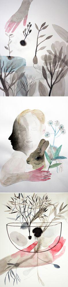 Sara Falli - watercolor