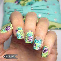 Instagram photo by @ christabellnails  #nail #nails #nailart