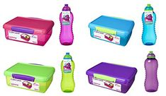 Sistema Plastic Kids School Sandwich Lunch Box with Bottle colors vary Usb Flash Drive, Plastic, School, Lunch Boxes, Kids, Ebay, Color, Medium, Young Children