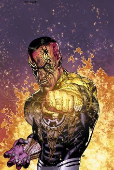 Yellow Lantern - Sinestro by Doug Mahnke *